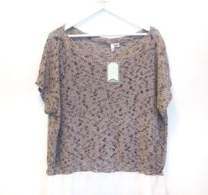 MOTH New With Tag and Slight Flaw Knit Blouse